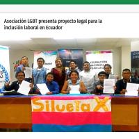 Asociación LGBT presenta proyecto legal para la inclusión laboral en Ecuador