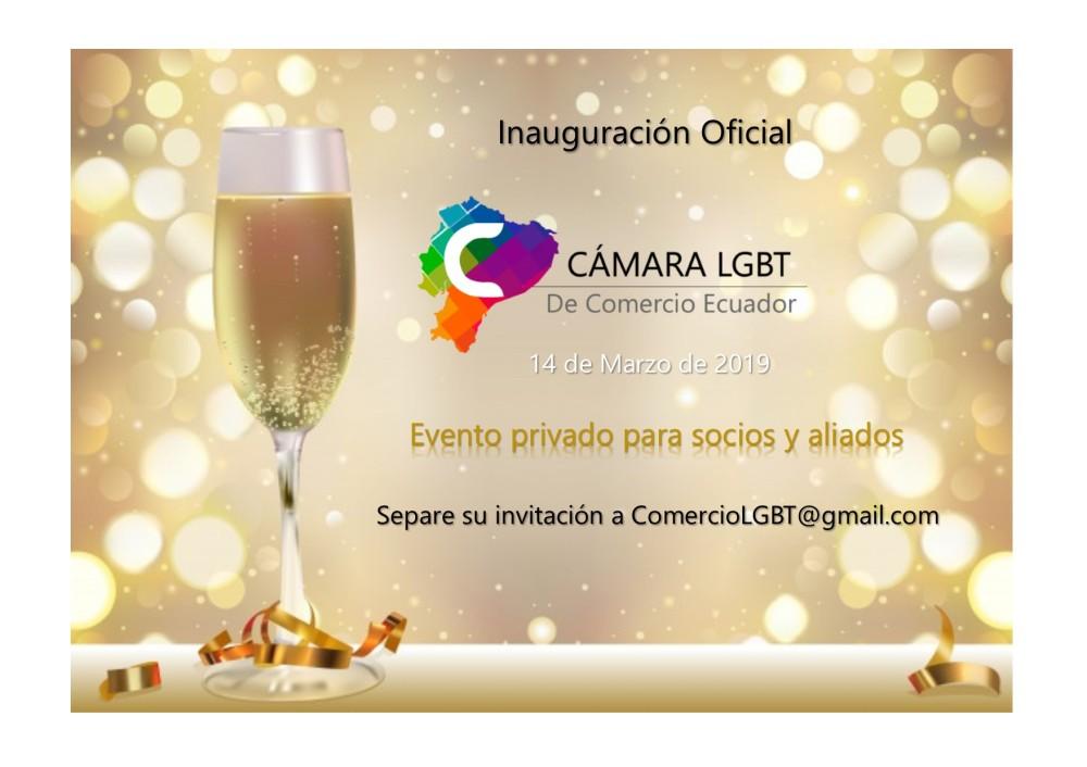 Inauguración de la Cámara de Comercio y Negocios LGBT Ecuador