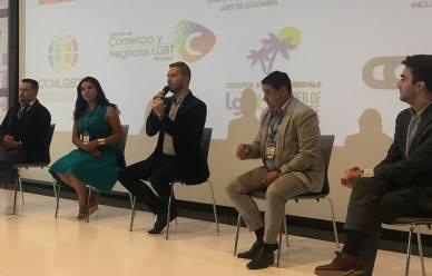 Participación de la Camara LGBT de Comercio y Turismo Ecuador en We Tride de camara de comerciantes colombia (14)