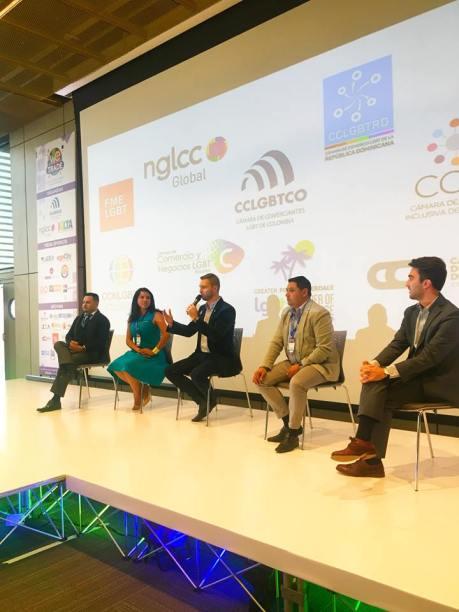 Participación de la Camara LGBT de Comercio y Turismo Ecuador en We Tride de camara de comerciantes colombia (17)