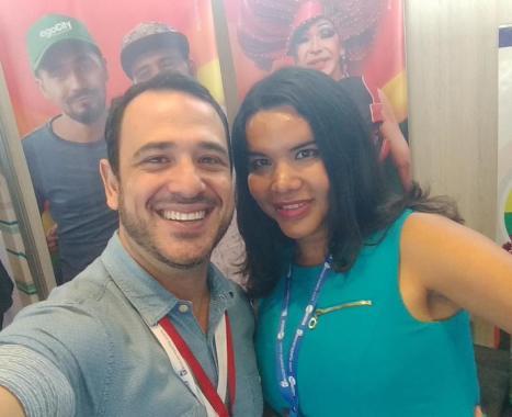 Participación de la Camara LGBT de Comercio y Turismo Ecuador en We Tride de camara de comerciantes colombia Diane Rodriguez (6)