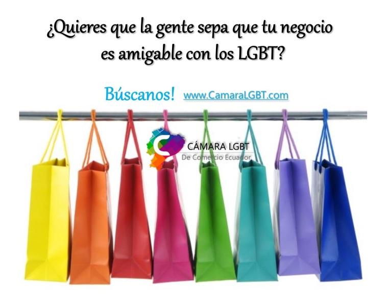 negocios amigables lgbt en Ecuador - Cámara LGBT de Comercio Ecuador