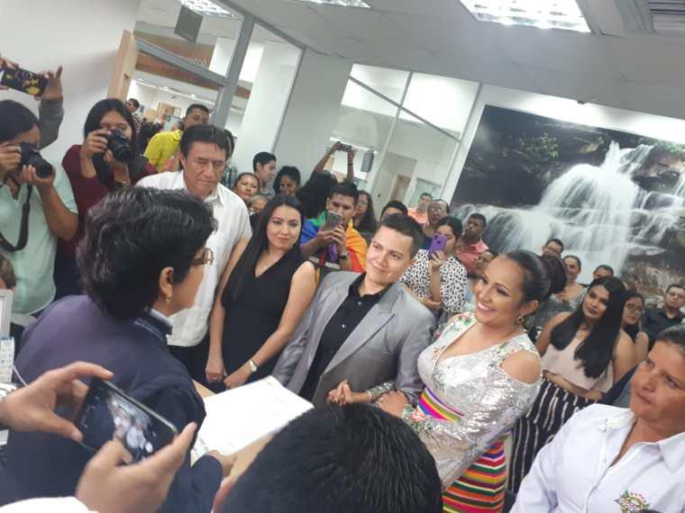 fotos del 2do matrimonio homosexual en Ecuador de Gina y Veronica en Santo Domingo de los Tsashilas 14.jpg