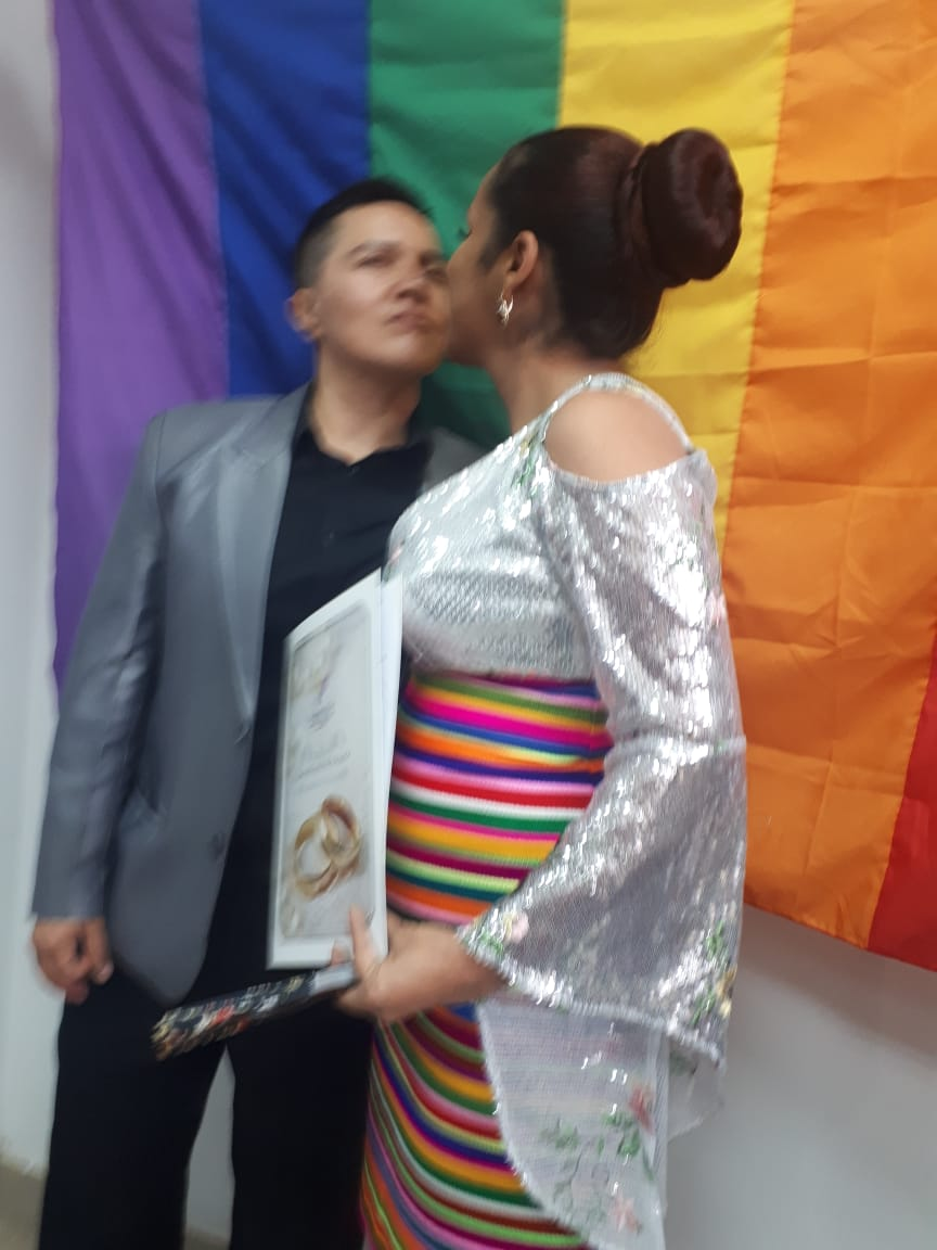 fotos del 2do matrimonio homosexual en Ecuador de Gina y Veronica en Santo Domingo de los Tsashilas 6.jpg