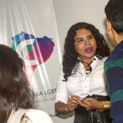 Camara LGBT del Ecuador rueda de prensa sobre lanzamiento - CEO Diane Rodriguez (14)