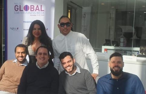 Bienvenida de la NGLCC a Cámaras de la Región - Cámara LGBT de comercio y turismo Ecuador - Diane Rodríguez