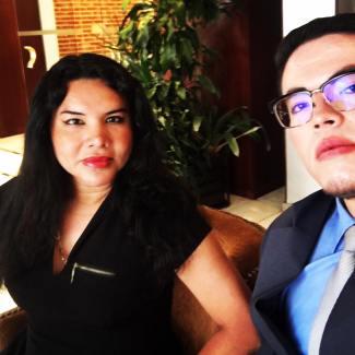 Cámara LGBT de comercio Ecuador en el We Trade Feria de oportunidades en Bogota Colombia - Diane Rodríguez Zambrano - CEO (5)