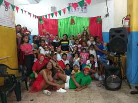 Agasajo de niños con VIH - SIlueta X - Cámara LGBT - Transmasculinos Ecuador 2019 -niños enfermeddes catastroficas (42)