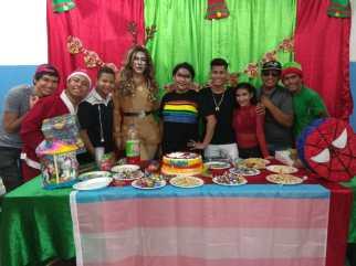 Agasajo de niños con VIH - SIlueta X - Cámara LGBT - Transmasculinos Ecuador 2019 -niños enfermeddes catastroficas (66)
