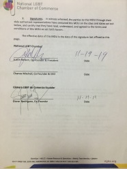 Acuerdo Entre la Camara LGBT de Comercio Ecuador y la NGLCC (1)