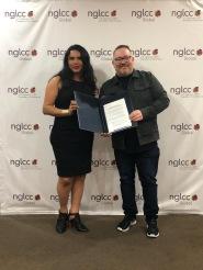 Entrega del MOU Acuerdo legal entre Camara LGBT de Estados Unidos NGLCC y la Camara LGBT de Ecuador (3)