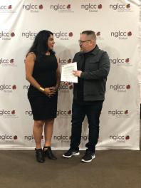Entrega del MOU Acuerdo legal entre Camara LGBT de Estados Unidos NGLCC y la Camara LGBT de Ecuador (7)