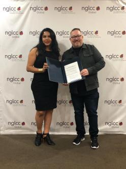 Entrega del MOU Acuerdo legal entre Camara LGBT de Estados Unidos NGLCC y la Camara LGBT de Ecuador (9)