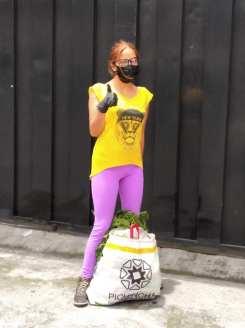 Donación de canastas y alimentos por parte de la Asociación Silueta X, centro Pisco Trans y La Camara LGBT de Comercio Ecuador - Covid19 - Apoyo Prefectura de Pichincha (14)