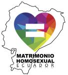 Matrimonio Homosexual Ecuador civil e igualitario o del mismo sexo logo 2